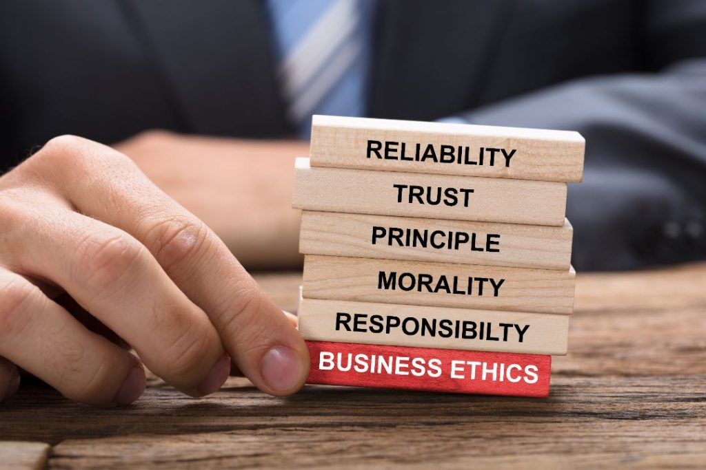 Business ethics online course for CPA credits