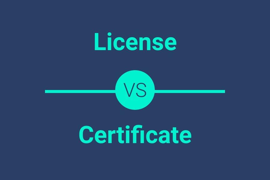CPA certificate vs license