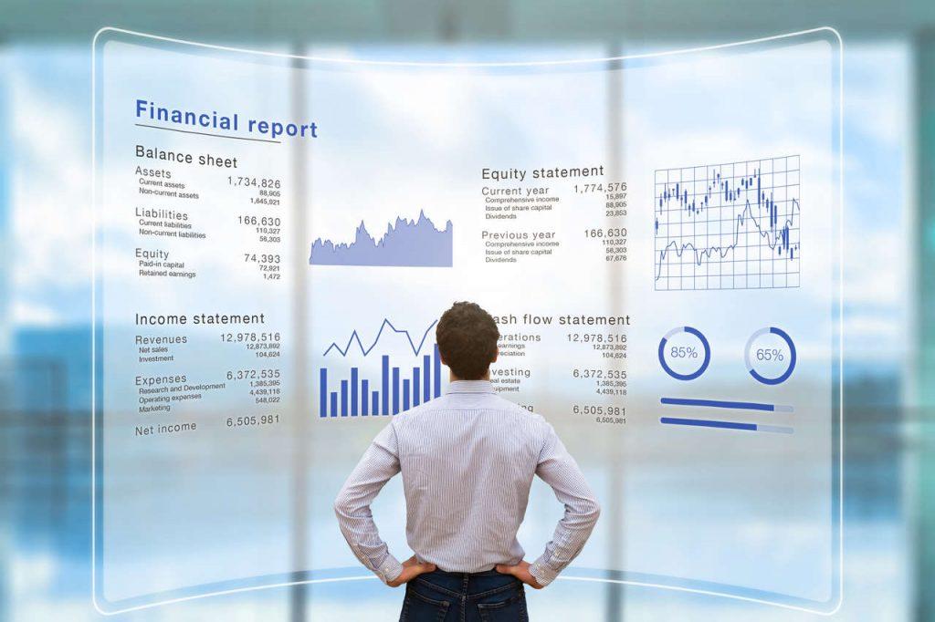Financial Accounting stock art